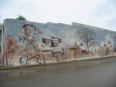 Cushing Historical Mural